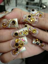 pin by juanita cruz on bling out nails pinterest bling nails