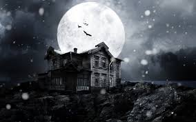 halloween haunted house background images spooky snow background clipart collection