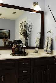 Mirror In A Bathroom Bathroom Furniture Interior Fans