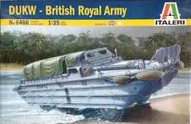 amphibious truck italeri 1 35 dukw british royal army amphibious vehicle itl6466 ebay