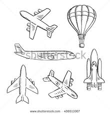 plane sketch stock images royalty free images u0026 vectors
