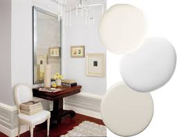 best paint color combinations cream white backdrops and gray