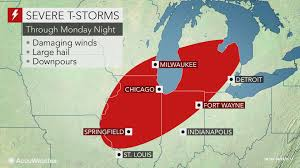Canada Wildfire Minneapolis by Week To Start With Severe Storms In Chicago Snow In Minneapolis