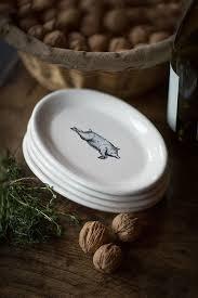 oval pork serving plates mothology