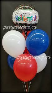retirement balloon bouquet retirement helium balloon bouquets party dreams
