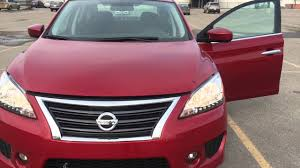 red nissan sentra 2014 nissan sentra sr full review youtube