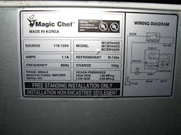 i have a small magic chef refrigerator that sat for some time