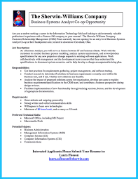 Business Analyst Profile Resume Best Secrets About Creating Effective Business Systems Analyst Resume
