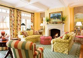 yellow livingroom colorful living rooms traditional home