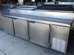 Refrigerated Prep Table by The Science Of Sandwich Shop Prep Tables U2013 One Fat Frog