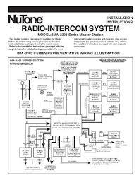 nutone intercom wiring diagram dryer wiring diagram security