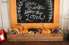 simple thanksgiving mantel honeybear