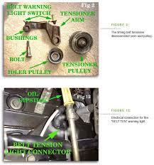 porsche 928 timing belt the 928 timing belt tensioner system