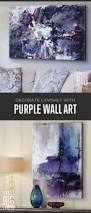 Gray And Purple Bedroom by Best 25 Purple Wall Decor Ideas On Pinterest Purple Bathroom