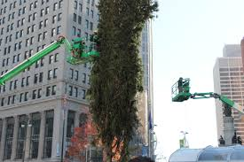 the holidays are coming detroit s 60 foot tree