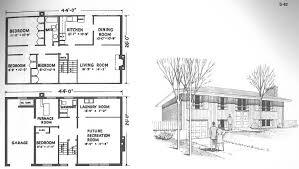 Split Level Floor Plan Floor Free Mid Century Modern Floor Plans Mid Century Modern