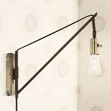 Wall Lamps With Cords Lamp Cord Covers Tip Best If Gathered To 4 Ft To 5ft For A Nice
