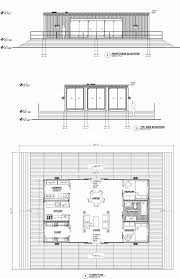 house plan conex house in blue with gabled roof for decor ideas