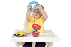 High Chair Toy Keep Your Tot U0027s Toys Off The Floor With The Grapple