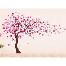 pop decors cherry blossom tree removable vinyl wall decal