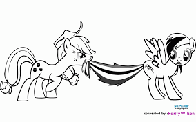 kid coloring pages my little pony rainbow dash coloring home
