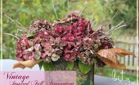 Fall Floral Arrangements Fall Floral Arrangement With Natural Elements Hometalk