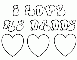 printable birthday cards for dad other kids coloring pages 100349