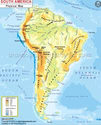 South America Map Physical by South America Physical Map Thinglink