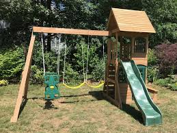 Big Backyard Swing Set Blog Swing Set Installation Ma Ct Ri Nh Me