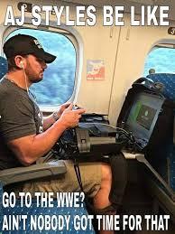 Aj Styles Memes - pro wrestling memes on twitter ajstyles be like