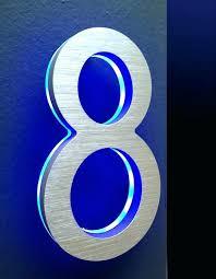 light up address sign lighted house number sign practicalmgt com