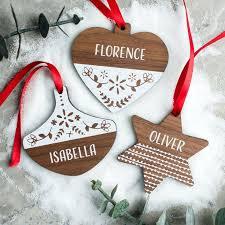 Personalised Polar Bear Christmas Decoration by 38 Best Personalised Wooden Christmas Decorations Images On