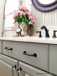 Chelsea Bathroom Vanity by Paint The Chelsea Project Powder Room Vanity Makeover Quarterview