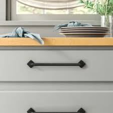 wayfair black kitchen cabinet pulls farmhouse rustic cabinet drawer pulls birch