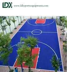 Best Backyard Basketball Court by Good Quality Sports Equipment From China