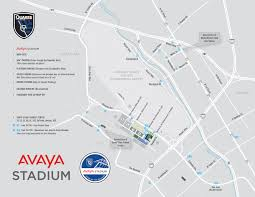 Atlanta Airport Gate Map by Avaya Stadium Map San Jose Earthquakes