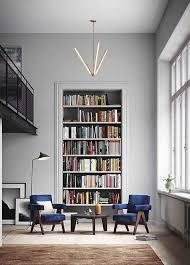 modern built in bookshelf design