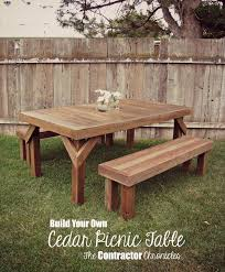 Table Gratifying Round Picnic Table Woodworking Plans Famous by 1507 Best Diy That I Must Try Images On Pinterest Wood