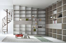 furniture home shelving system case modular bookcase for living