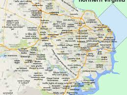 Los Angeles Gang Map by This Map Of Northern Virginia Will Probably Offend Everyone