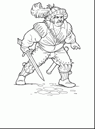 remarkable soldiers and knights coloring pages with soldier