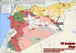 Beirut On Map Nationwide Map Of Syria October 17 2017