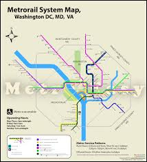 Metro Line Map by Washington Metro Map Metroeasy Com