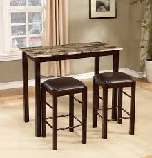 amazon com roundhill furniture brando 3 piece counter height