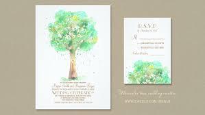watercolor wedding invitations read more watercolor tree heart wedding invitations