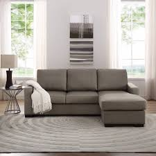 Leather Sectional With Chaise And Ottoman Sofa With Ottoman Classic Home Update Ottoman Tables Interior