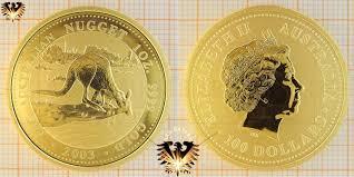 2003 100 Aud 100 Dollars 2003 Australia Australian Nugget Kangaroo