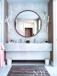 Round Bathroom Mirror by Bathe Well Rounded Mirrors In The Bath The Design Confidential