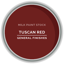 Tuscan Paint Colors Stock Milk Paint Color Tuscan Red General Finishes Design Center