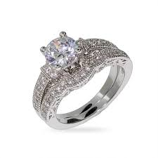 wedding ring set for style cz wedding ring set s addiction